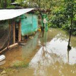 Las Quebrada Dosquebradas esta afectando Viviendas